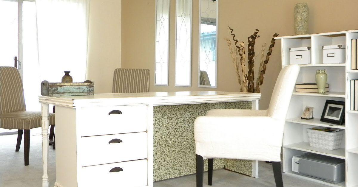 Repurposed Dresser Into A Desk Hometalk