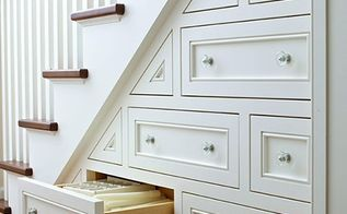 16 surprising storage ideas, cleaning tips, craft rooms, storage ideas, Under The Stairs Storage via Decorated Life