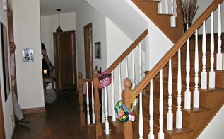 staircase makeover, flooring, home decor, stairs