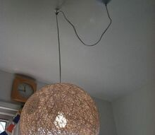 q need advice on how to drape this light, electrical, home decor, lighting, wall decor