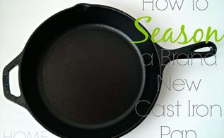 how to season cast iron skillets hometalk. Black Bedroom Furniture Sets. Home Design Ideas