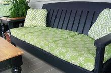 diy porch furniture from ana white plans, diy, outdoor furniture, outdoor living, painted furniture, porches