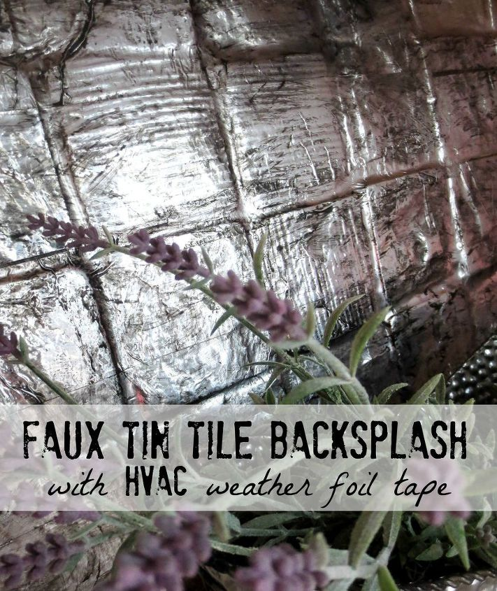 Cover An Ugly Tile Backsplash