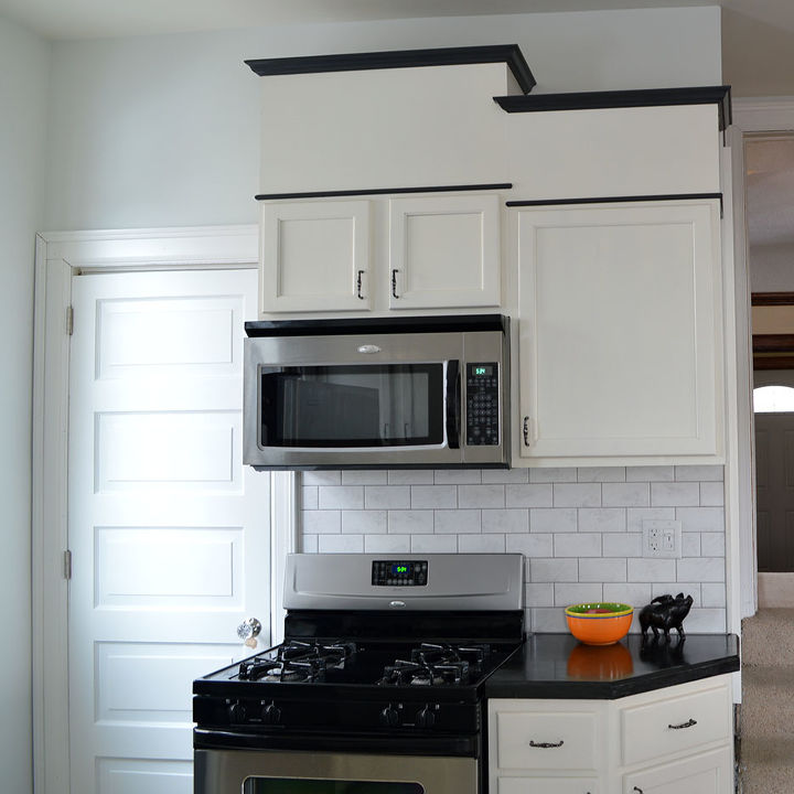 kitchen cabinet makeover actually it was more like plastic surgery diy home decor - Plastic Kitchen Cabinet
