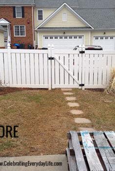 my back yard makeover, gardening, landscape