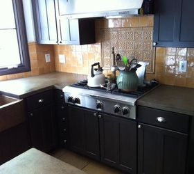 How Do You Clean Concrete Countertops Concrete Countertops Finished Up  Today Hometalk