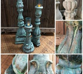 Faux Concrete Candle Holders Mason Jars Unique Outdoor Lighting, Concrete  Masonry, Mason Jars,