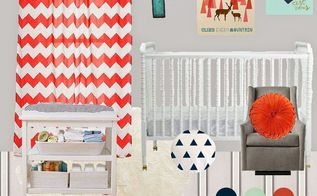 red white and blue nursery reveal, bedroom ideas, diy, home decor, how to, painted furniture, rustic furniture