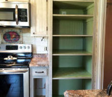our pantry makeover reveal is finally here, closet, diy, how to, kitchen design, painting