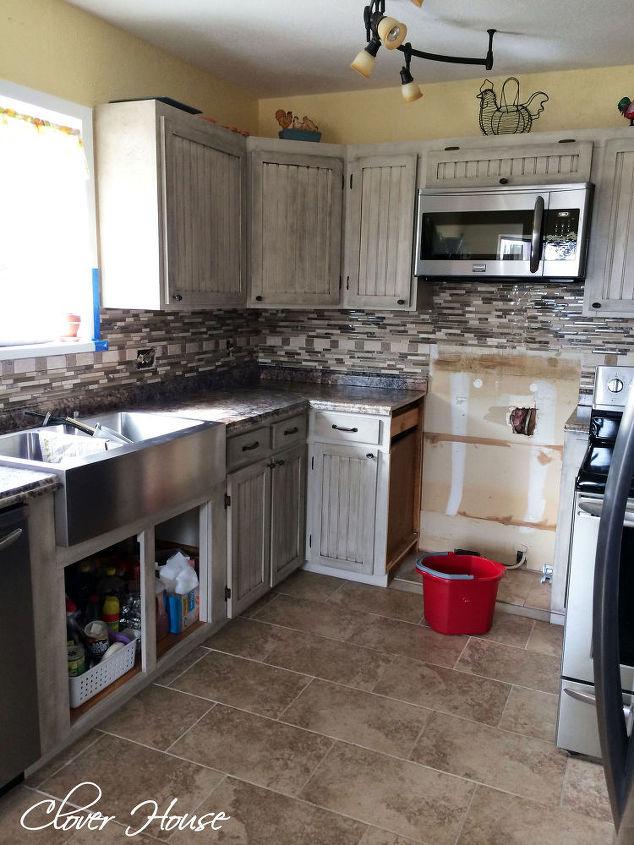 diy mosaic tile backsplash, diy, how to, kitchen backsplash, kitchen design, - DIY Mosaic Tile Backsplash Hometalk