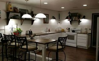 farmhouse inspired kitchen, kitchen backsplash, kitchen design
