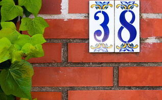 easy makeover idea change your address numbers, curb appeal