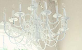 chandeliers in a shabby chic bathroom, bathroom ideas, home decor, lighting, shabby chic