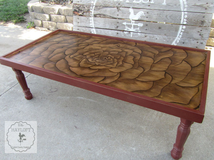 ugly 70 s ish coffee table makeover, painted furniture - Ugly 60's-ish Coffee Table Makeover Hometalk