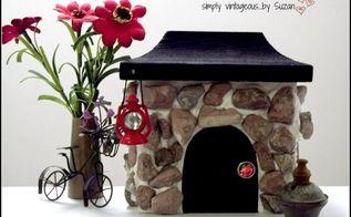 fairy garden cottage diy, crafts, gardening