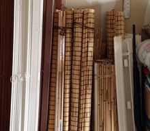 q upcycle blinds project idea, repurposing upcycling, Here are the blinds I m talking about