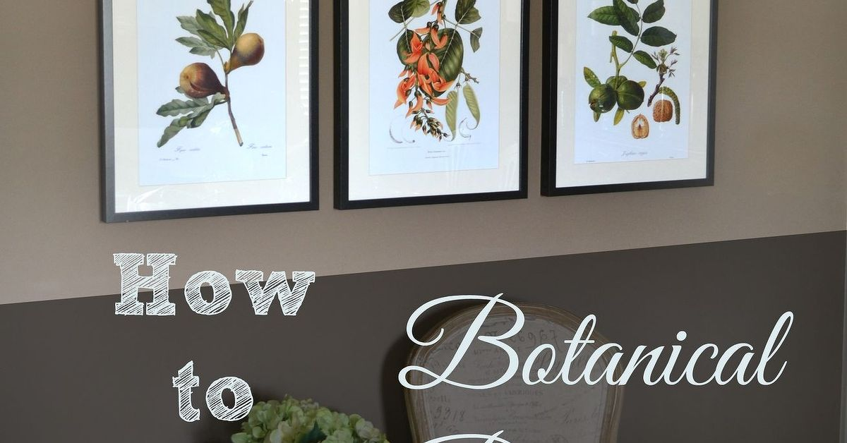 Botanical wall prints traditional or timeless hometalk for Timeless home design