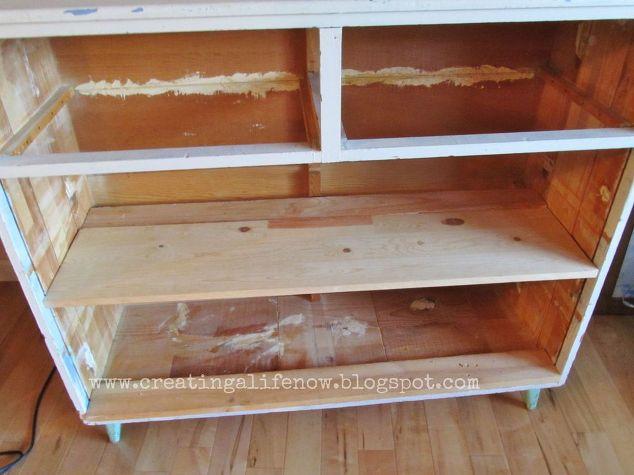 No Money Diy Vintage Dresser Island Hometalk
