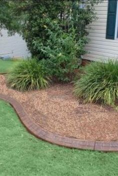 concrete landscape curbing we installed duluth and suwanee georgia, concrete masonry, gardening, landscape