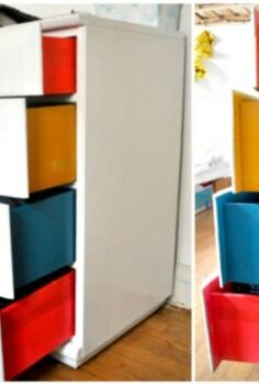 taste the rainbow 6 ways to color block your home, home decor, painted furniture, DIY Color Block Dresser
