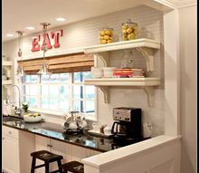 lightened up home reveal, dining room ideas, home decor, kitchen cabinets, kitchen design, lighting, living room ideas