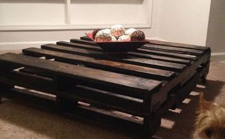 pallet coffe table wood, diy, painted furniture, pallet, repurposing upcycling