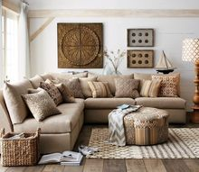 q i need to find out who makes this sectional, home decor, living room ideas
