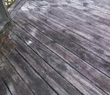 q decks painting cleaning tips, decks, diy, home maintenance repairs, painting