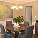 painted furniture cabinet dining room, dining room ideas, home decor, painted furniture