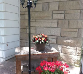 Good Patio Ideas Repurposed Lamps Solar Lights, Lighting, Outdoor Living, Patio