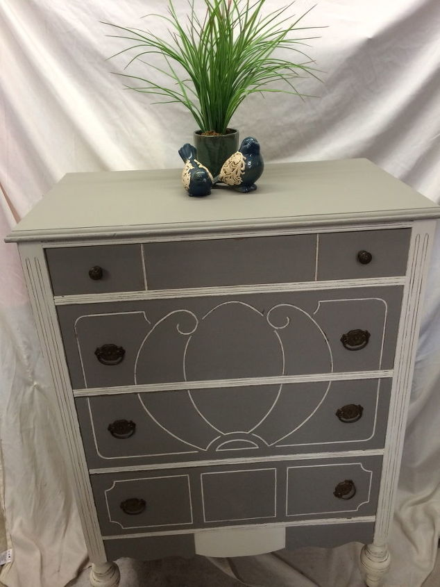 Annie Sloan Chalk Painted Wood Dresser Hometalk