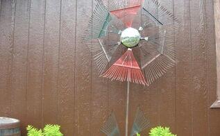 recycled yard art, crafts, gardening, repurposing upcycling