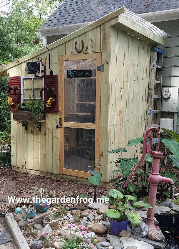woodworking shed garden picket fence diy gardening outdoor living repurposing upcycling