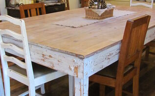 farmhouse table, painted furniture, pallet, Farmhouse table