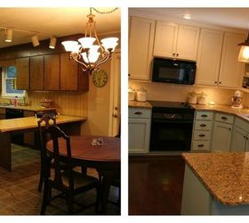 Kitchen Remodel Pictures With Cost Before And After Blog Renovation Amp  Home Decor Overland Park Ks