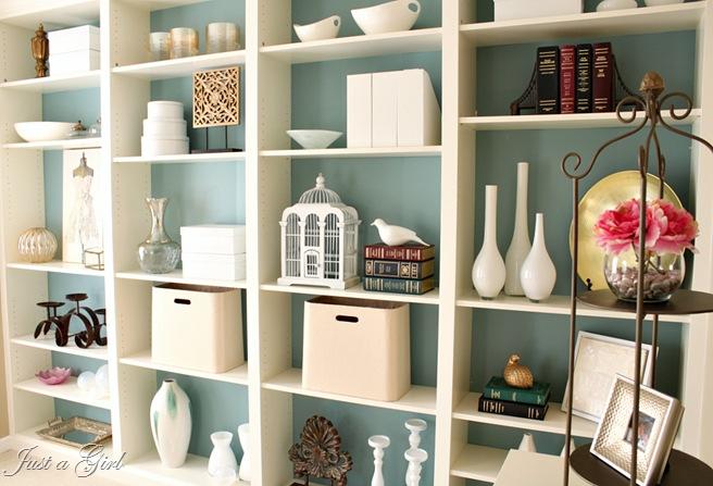 diy built in bookcases, painted furniture, shelving ideas, Built in Ikea  bookshelves - DIY Built In Bookcases Hometalk