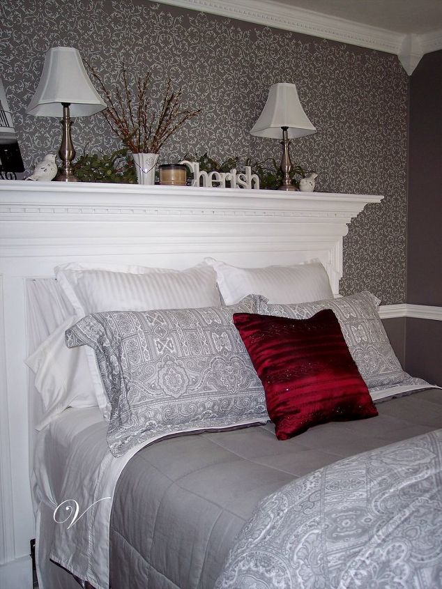 How To Make A Headboard Out Of A Mantel Hometalk