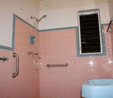 q closing in a bathroom window that faces into the house, bathroom ideas, diy, home maintenance repairs, small bathroom ideas, windows, These are closing day photos