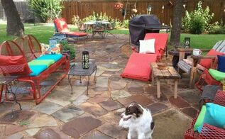 outdoor fun, concrete masonry, diy, outdoor living, patio, My finished stone patio