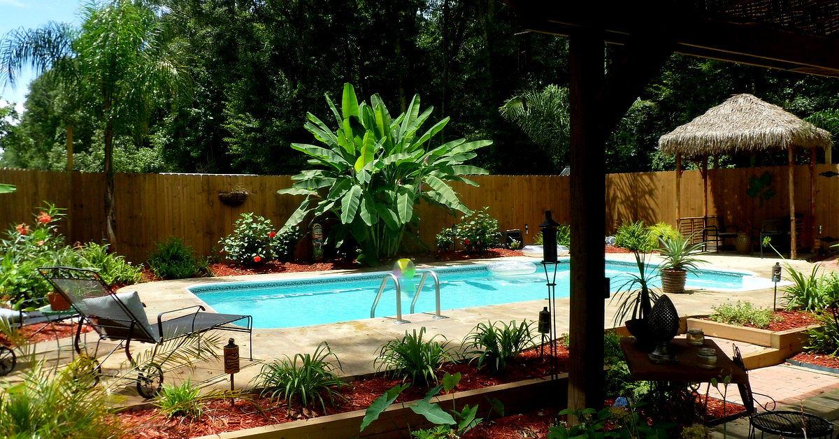 Recycled inground pool paradise hometalk for Repurpose inground swimming pool
