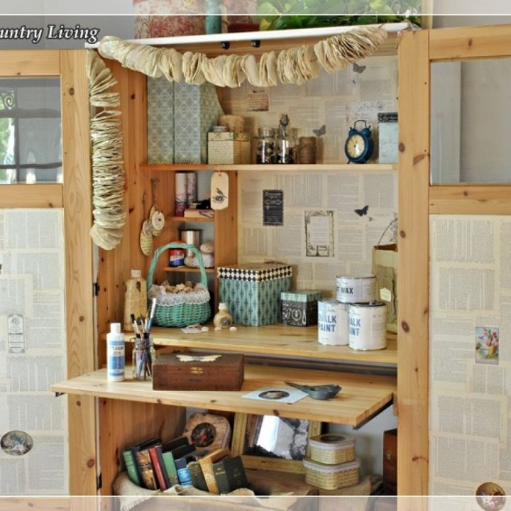 Craft Cabinet Images About Craft Storage On Craft Storage: Ikea Cabinet Turned Craft Center