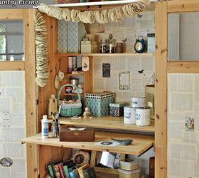 ikea cabinet turned craft center craft rooms kitchen cabinets magazine holders decoupage boxes