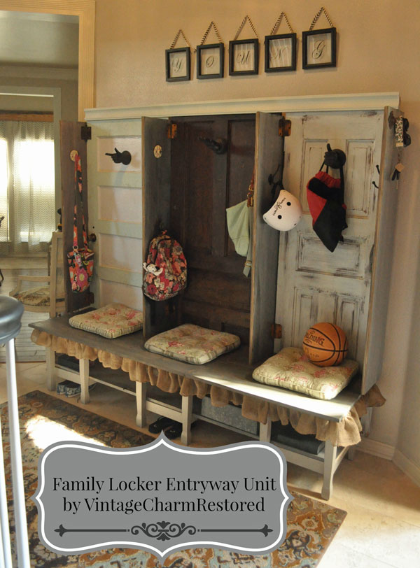 Foyer Mudroom Units : Family storage entryway unit hometalk