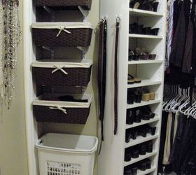 Superb Organized Master Bedroom Closet, Closet, Organizing, Shelving Ideas, I  Found The Baskets Awesome Design