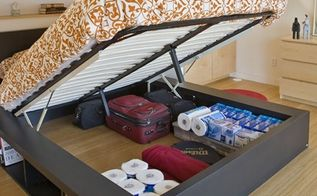 q under bed storage system, bedroom ideas, painted furniture, this is the photo I saw on pinterest