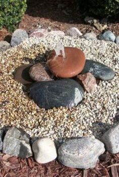 bubbling rock water feature, diy, how to, ponds water features, Bubbling Rock 1