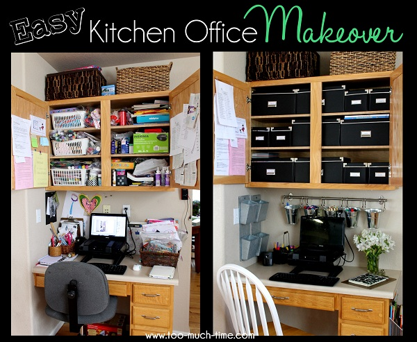 Kitchen Office Organization Ideas Home Office Ideas For Small