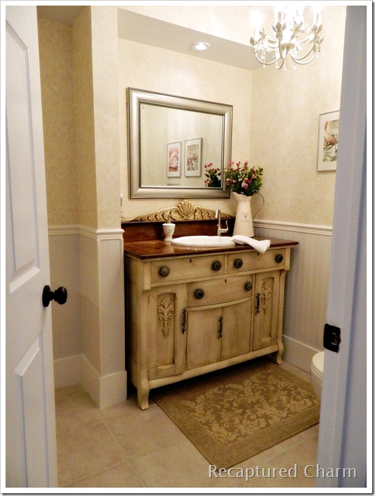 Laundry room powder room hometalk for Laundry in bathroom ideas