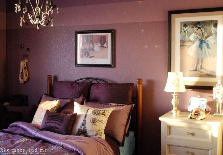 Purple Bedroom Makeover | Hometalk