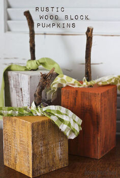 fall decor rustic wood pumpkins, crafts, repurposing upcycling, seasonal holiday decor